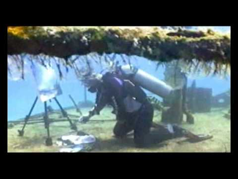 Philip Gray, Extreme Art Project, Underwater Painting