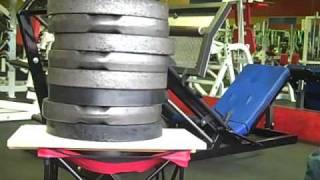 Folding Chair Maxxdaddy Mini Strength Test
