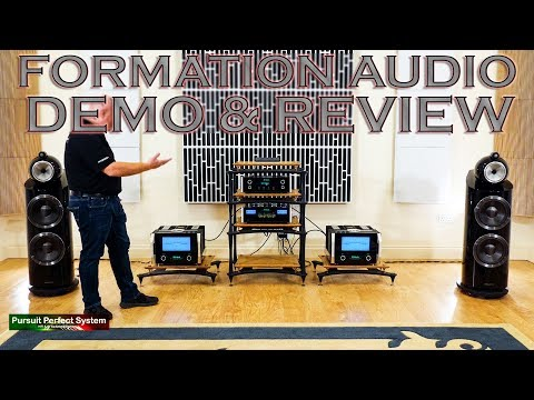 Bowers & Wilkins NEW Formation Audio 800 D3 McIntosh DEMO & REVIEW