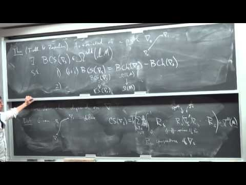 Scott Wilson: Chern-Simons forms, Free Loop Spaces, and K-theory ...