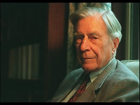 John Kenneth Galbraith speaking at UCLA 5/21/1972
