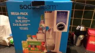 SODASTREAM GENESIS MEGA PACK WITH SAMPLES UNBOXING