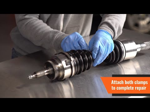 How to Replace a CV Boot Kit by Dorman Products