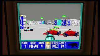 Wolfenstein 3D Episode 5 Floor 7