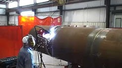 X80 Grade Pipe welding using LoneStar Automated Welding System