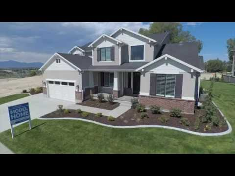 New homes for sale in draper utah youtube for Modern homes utah for sale