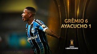 Grêmio vs. Ayacucho FC [6-1] | RESUMEN | Fase 2 | CONMEBOL Libertadores 2021