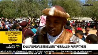 Khoisan people remember their forefathers on Heritage day
