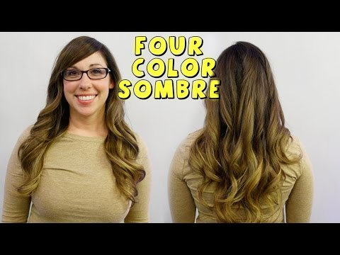 4 COLOR SOMBRE – New Celeb Hair Trend