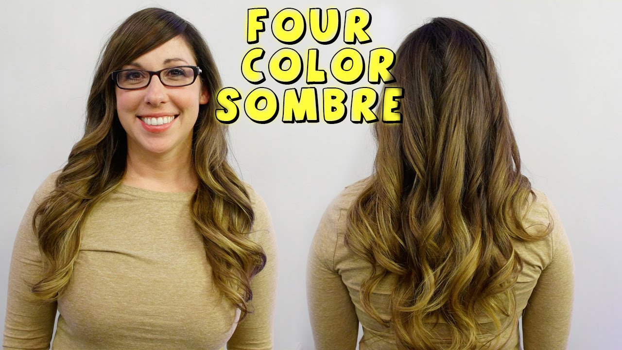 4 COLOR SOMBRE - New Celeb Hair Trend - Hair 101 with ...