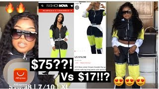 ALIEXPRESS TRY ON FASHION HAUL ???? FASHION NOVA DUPES??!?