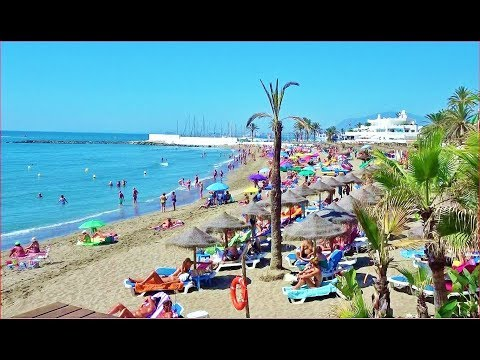 SPAIN MARBELLA BEACH, BEST Overview, 2017
