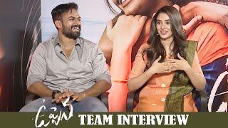 Uppena Movie Team Interview | Vaishnav Tej | Krithi Shetty | Buchi Babu | MS Entertainments