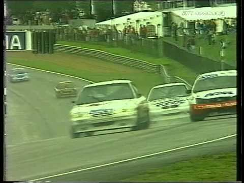 1998 Shane Bland Eurocar Brands Hatch Wet Race Youtube