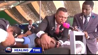 ANGEL OBINIM INSTANTLY HEALS A TOTALLY BLIND GIRL WITH HER EYES POPPING OUT