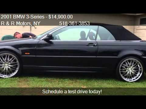 2001 BMW 3Series 330Ci convertible  for sale in Queensbury  YouTube