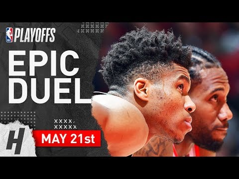 Kawhi Leonard vs Giannis Antetokounmpo Game 4 Duel Highlights 2019 NBA Playoffs ECF - TOO GOOD