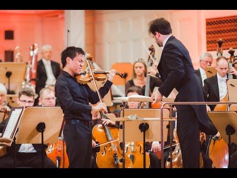 Luke Hsu plays Wieniawski Violin Concerto no. 2 in D minor, Op. 22 | STEREO