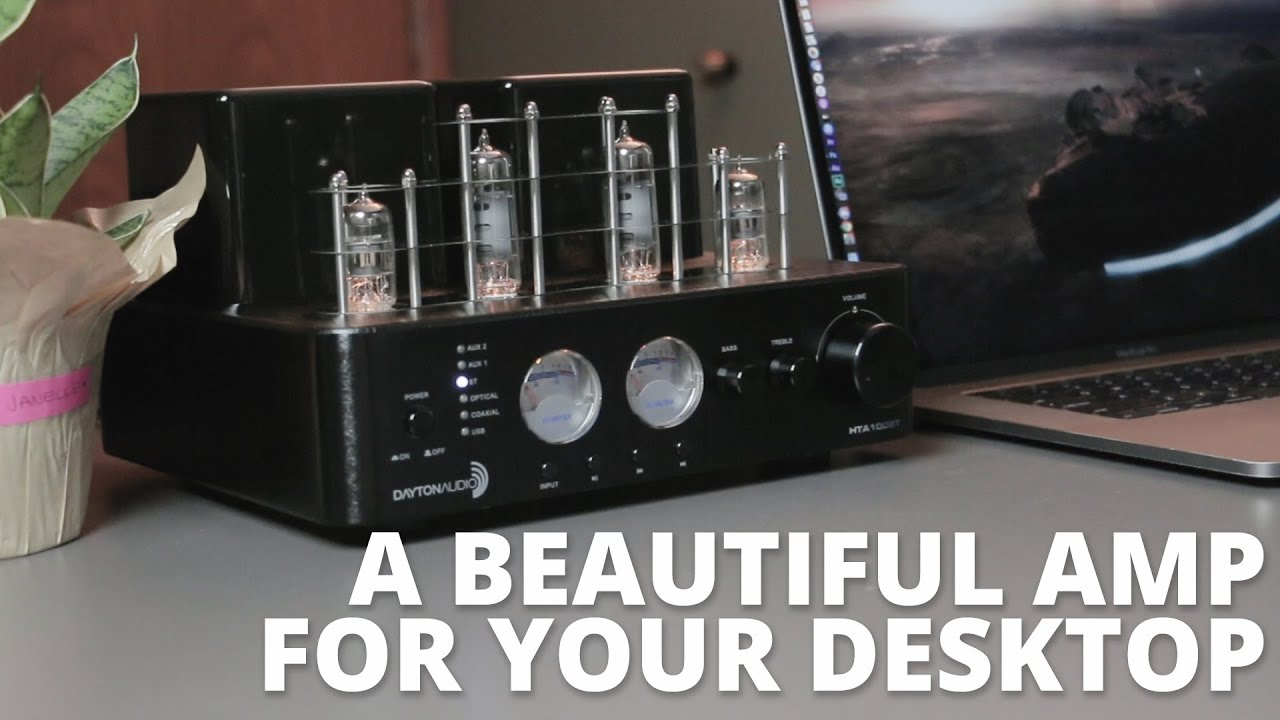 A Beautiful Hybrid Stereo Tube Amplifier with Bluetooth and Subwoofer Support!