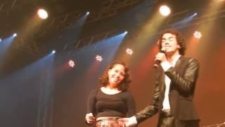 Sam Alves em Fortaleza Musique- A  thousand years (participação de fã Larissa)