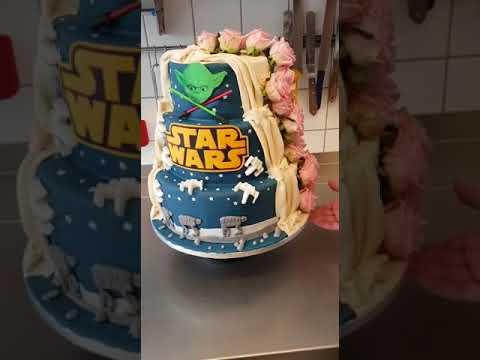 Star Wars Hochzeitstorte Youtube