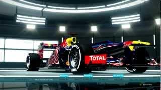 F1 2012 Gameplay Ita PC Inizio Carriera - Scaldare il motore -