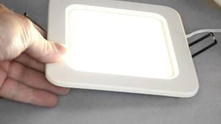 Светильник светодиодный потолочный  Fusion 150х150мм(, 2011-08-07T07:34:40.000Z)