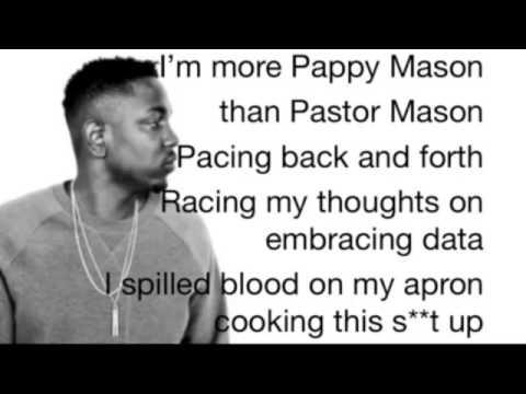 Kendrick Lamar BET Hip Hop Awards Cypher Verse (Lyric Video)