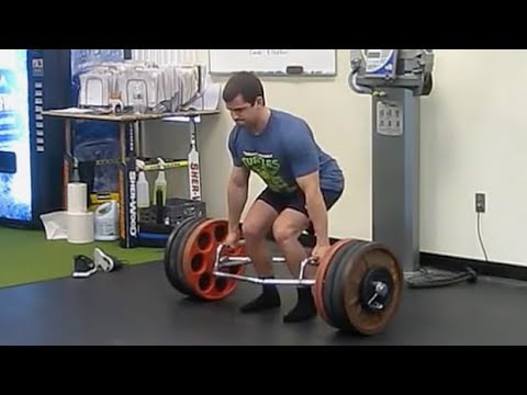 Trap Bar Romanian Deadlifts