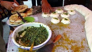 新疆蔥油餅 Scallion pancake,Xinjiang (China)