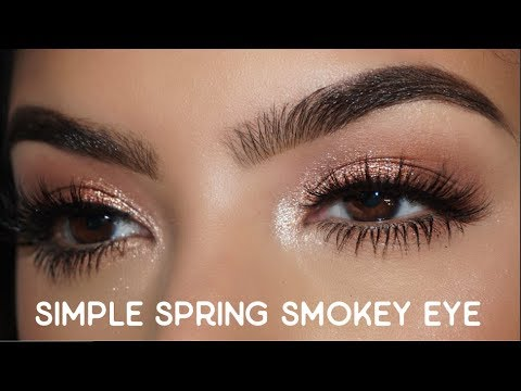 Simple Smokey Eye Tutorial For Spring || MAC Boom Boom Bloom Collection