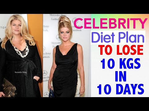 Actress Diet Plan For Weight Loss | How To Lose Weight Fast 10Kg In 10 Days | Celebrity Diet Plan