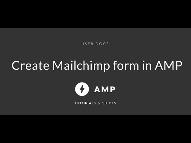 AMP Form - amp-form extended examples and tricks