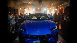 Lamborghini Melbourne Urus Launch