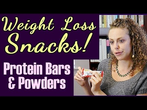 Weight Loss Snacks! Best & Worst Sweet Bars, Protein Shakes, Healthy Snack Ideas for Weight Loss