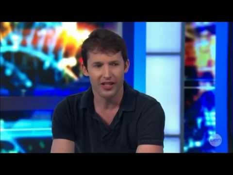James Blunt 'Likes Fans Fondling His Man Junk!' Australian Tv FULL Interview