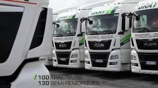 Transports BRAY Clip Vidéo 2017 Transport Routier de Marchandises Stockage Logistique Tred Union