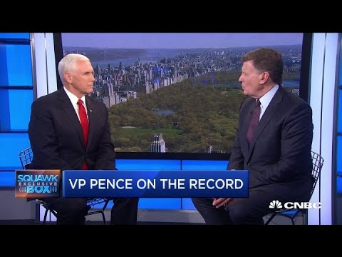 Vice President Mike Pence on Federal Reserve and socialism