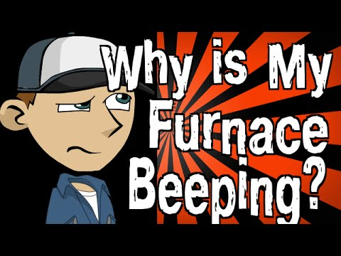 Why is My Furnace Beeping? - YouTube