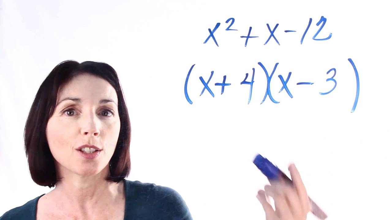How to Factor Quadratic Expressions - YouTube