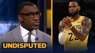 Shannon Sharpe responds to LeBron's 'Young King' comment about Lonzo Ball   NBA   UNDISPUTED