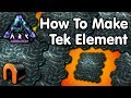 ARK - HOW TO MAKE TEK ELEMENT ON Aberration
