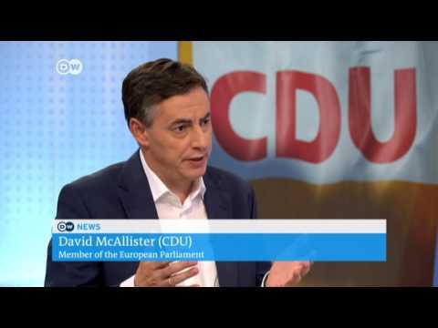 David McAllister im Interview mit der Deutschen Welle