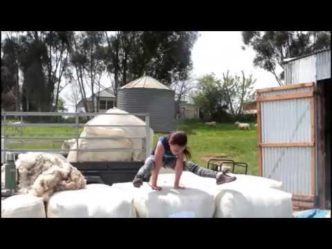 Shearing sheep with dad + Gymnastics