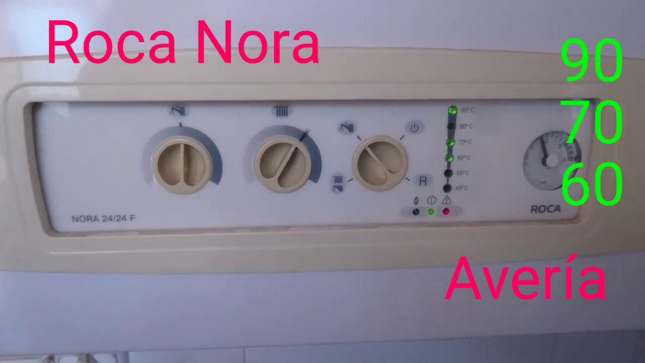 Roca nora aver a 60 70 90 youtube for Averia caldera roca