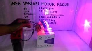 Lampu PROJI LED AC DC 3,5 inch P6 Projie projector INER VARIASI MOTOR IVM KUDYS