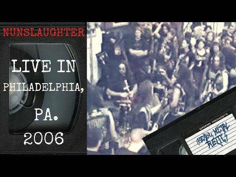 Nunslaughter Live in Philadelphia PA September 9 2006