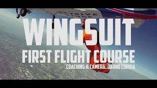 Wingsuit First Flight Course – May 2016, Seppe, NL
