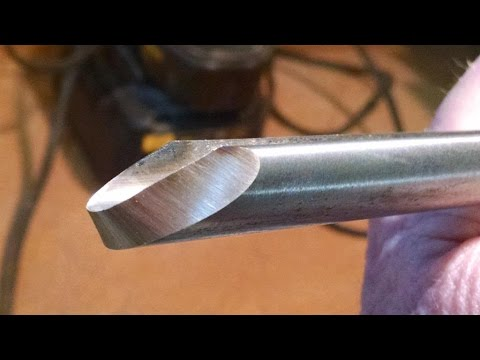 My method of sharpening the Bowl Gouge.