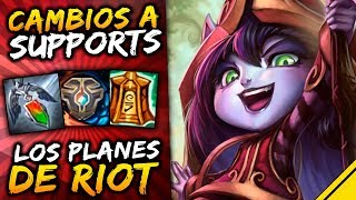 RIOT HARÁ REWORK DE SUPPORTS | Noticias League Of Legends LoL